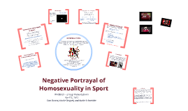 Negative Portrayal of Homosexuality in Sport
