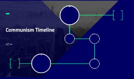 Communism Timeline