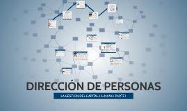 DIRECCIÓN DE PERSONAS