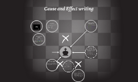 Copy of Cause and Effect writing
