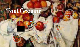 Copy of Paul Cezanne