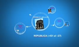 Copy of LA REPUBLICA ROMANA