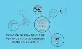 Copy of CREACIÓN DE UNA TIENDA DE VENTA DE ROPA DE SEGUNDA MANO Y AC