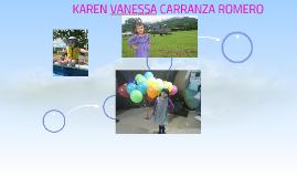 KAREN VANESSA CARRANZA ROMERO