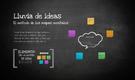 Plantilla Mapas Mentales por Ricardo Oliveira