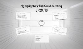 Full Guild Meeting 3/20/2013