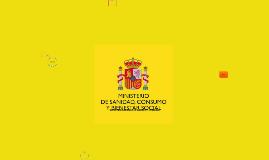 SECRETARÍA GENERAL DE SANIDAD Y CONSUMO