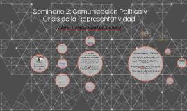 Seminario 2: Comunicación Política y