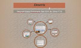 Copy of Deserts
