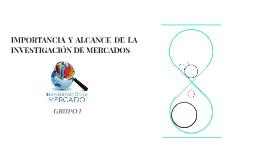 IMPORTANCIA Y ALCANCE DE LA INVESTIGACIÓN DE MERCADOS