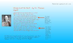 Whoso List to Hunt by Sir Thomas Wyatt