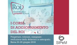 SIPeM ROI - Felice Sperandeo - teorie pedagogiche