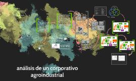 análisis de un corporativo agroindustrial