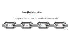 Introducción a seguridad (Perspectiva de un programador junior)