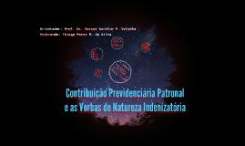 Contribuição Previdenciária Patronal