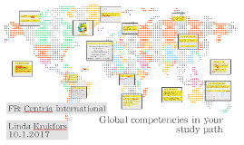 Global competencies in your study path 2017