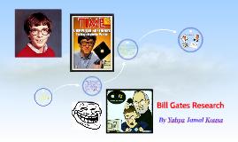 Bill Gates Reasearch