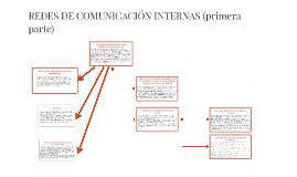REDES DE COMUNICACIÓN INTERNAS
