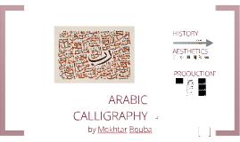 Copy of Arabic Calligraphy