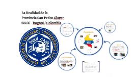 La Realidad de la Provincia San Pedro Claver SSCC