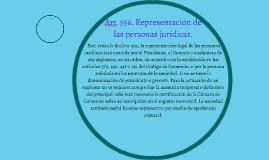 Copy of Art. 556. Representación de las personas jurídicas.