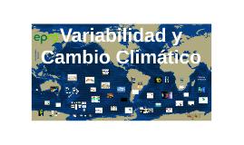 Cambio Climático PETAR Bello