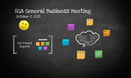 SGA General Business Meeting