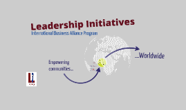 International Business Alliance Program