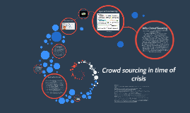 Crowdsourcing in Time of Crisis