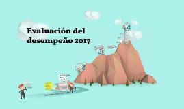 Evaluación del desempeño directivo 2017