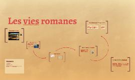 Les vies romanes