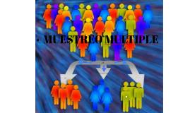 MUESTREO MULTIPLE