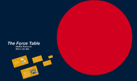 The Force Table