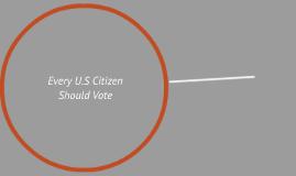 Every U.S Citizen Should Vote
