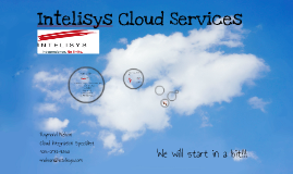 Intelisys Cloud Overview 3.0