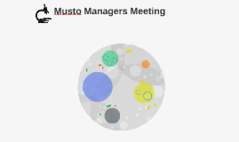 Musto Managers Meeting