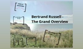 Bertrand Russell - On Universals
