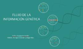 EL FLUJO DE LA INFORMACIÓN GENÉTICA
