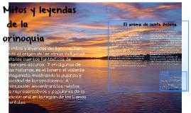Copy of Mitos y leyendas