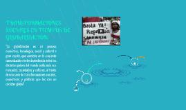 Copy of TRANSFORMACIONES SOCIALES EN TIEMPOS DE GLOBALIZACIÓN.