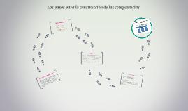 Los pasos para la construcción de las competencias