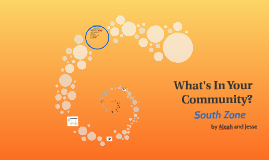 Copy of What's In Your Community?