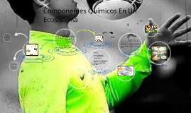 Copy of Componentes Químicos En Un Ecosistema