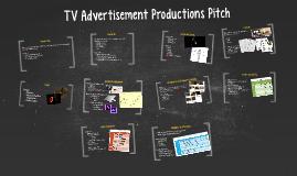 Pre-Production pitch