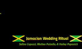 Jamacian Wedding Ritual