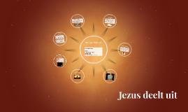 Jezus deelt uit