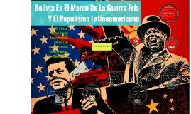 Copy of La Guerra Fría