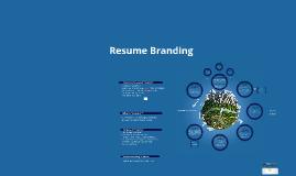 Resume Branding