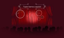 Teatro barroco español