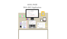 OLD VERSION ADEA PASS 2015 cycle